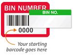Bin No. Labels