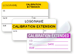 Calibration Extended Labels