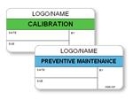 Standard Calibration Labels