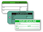 Add your name to personalized calibration labels.