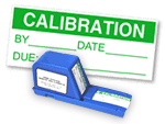 Calibration Labels in Dispenser