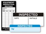 Inspected QC Labels