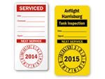 Next Service Due Labels