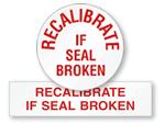 Recalibrate QC Labels