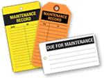 Maintenance Tags