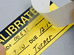 Self-Laminating Calibration Labels