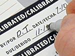 Write-On Vinyl Calibration Labels