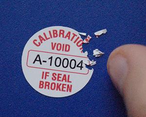 Destructible Quality Control Seals - Custom Security Seals