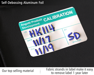 Self-Debossing Aluminum Foil
