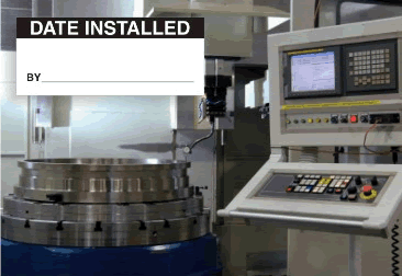 Date Installed Labels