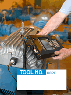 Organize your tools and equipment inventory with these Tool No. Labels.