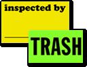 Fluorescent Inspection Labels