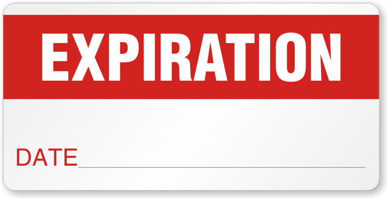 Experation date