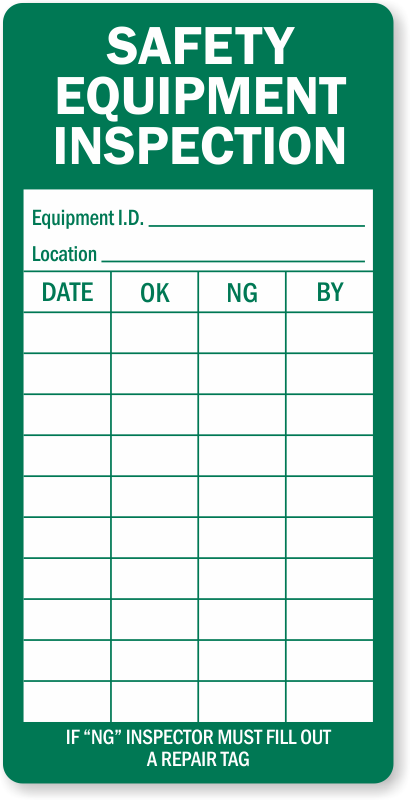 Electrical Safety Inspection Stickers : Safety check labels standard calibration