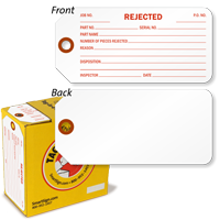 Rejected Tag-in-a-Box with Fiber Patch