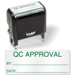 QC Approval Self Inking Inspection Stamp