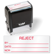 Reject Self Inking QC Stamp