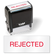 Rejected Self Inking Stamp