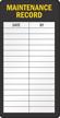 Maintenance Record Inspection Label