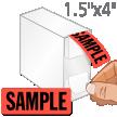 Sample Label Dispenser Box