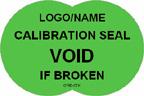 Calibration Seal - Void if Broken Label