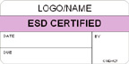 ESD Certified Label [add name or logo]