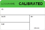 Calibrated Label [add name or logo]