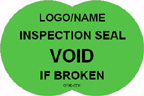 Inspection Seal - Void if Broken Label