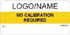 No Calibration Required Label Custom