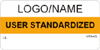 User Standardized Label [add name or logo]