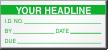 Custom Add Headline Due Date Calibration Label