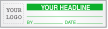 Custom Calibration Logo Label