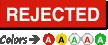 Rejected Calibration Label