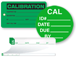 All Calibration Labels