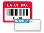 Batch No. Labels