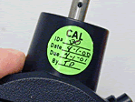 Calibration Label Dots