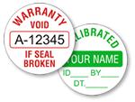 Circular Tamper Proof Labels
