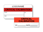 Critical Calibration Labels