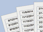 Shelf Life Date Labels