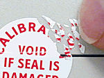 Destructible Quality Control Seals - Custom Security Seals