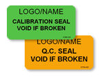 General Void Seal Labels