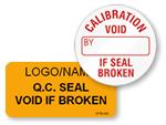 Quality Control Seals