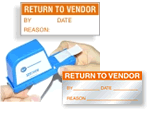Return to Vendor Labels