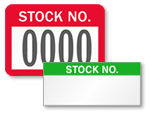 Stock Number Labels