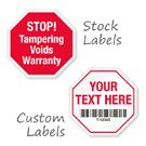 Stop Sign Shaped Seals