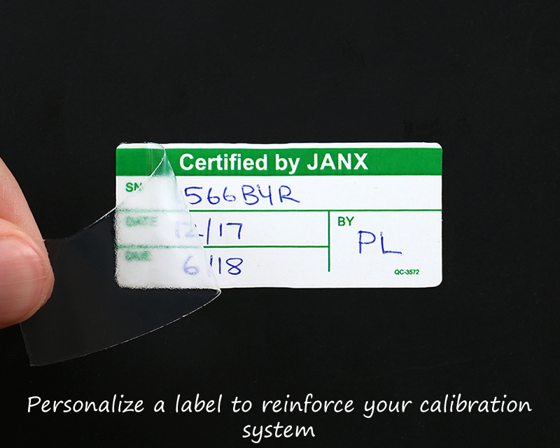 This is a graphic of Adorable Self Laminating Calibration Labels