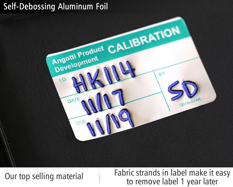 custom calibration labels quality control tags at qclabels com