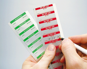Debossable Aluminum Calibration Labels