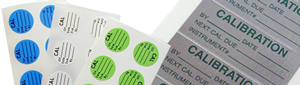 Calibration Labels by Legend