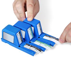 Calibration Labels in Dispenser